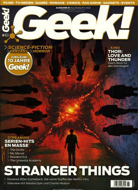 Cover des Magazins Geek!
