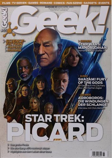 Cover des Magazins Geek!
