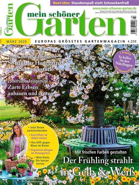 Mein schöner Garten  Cover