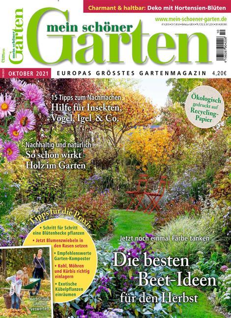 Mein schöner Garten 10/21 Cover