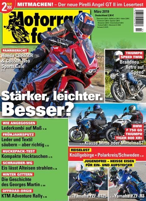 Motorradfahrer-Abo