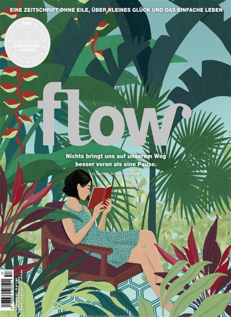 Das Cover der Zeitschrift Flow