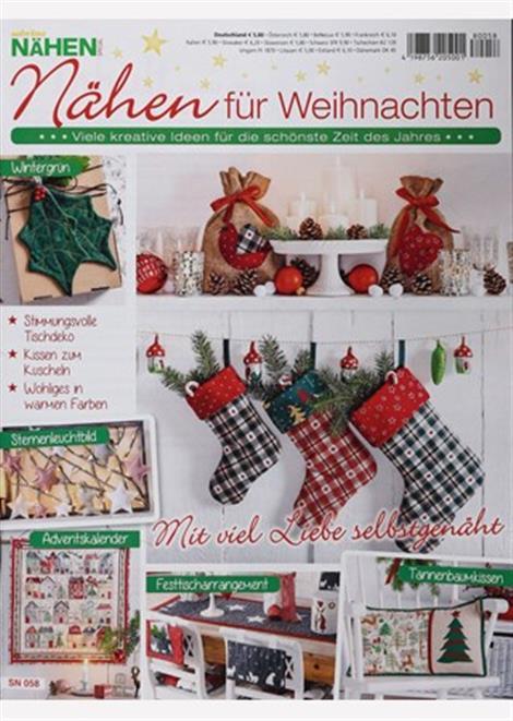 ▷ Sabrina Nähen: Nähen für Weihnachten Abo ▷ Sabrina Nähen: Nähen ...