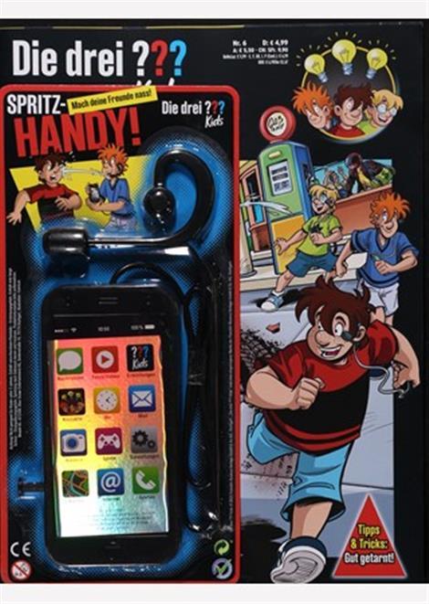 Cover des aktuellen Magazins die drei Fragezeichen Kids