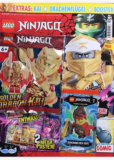 Cover der aktuellen Lego Ninjago