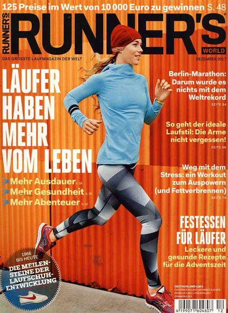 Cover der Runner`s World