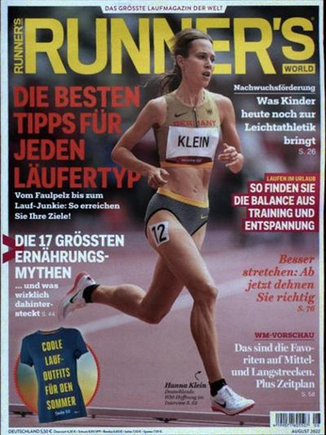 Cover der Runner`s World