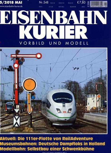 Eisenbahn-Kurier-Abo