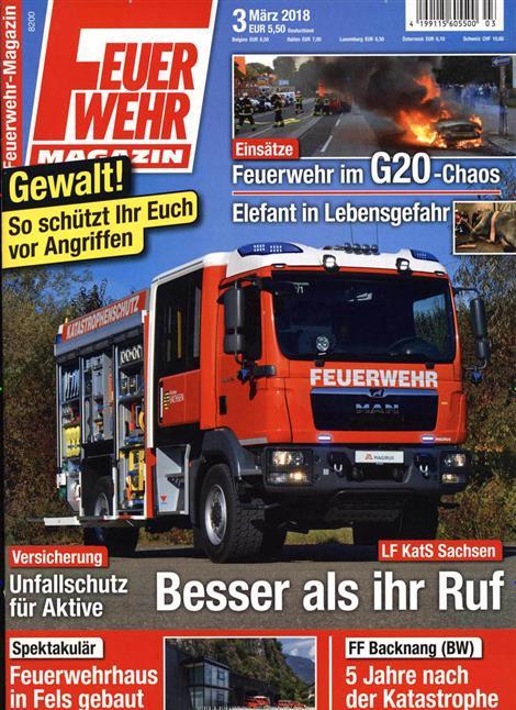 Feuerwehr-Magazin-Abo