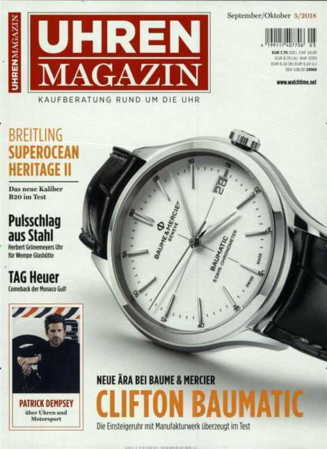 ▷ Uhren Magazin Abo ▷ Uhren Magazin Probe-Abo ▷ Uhren Magazin ...