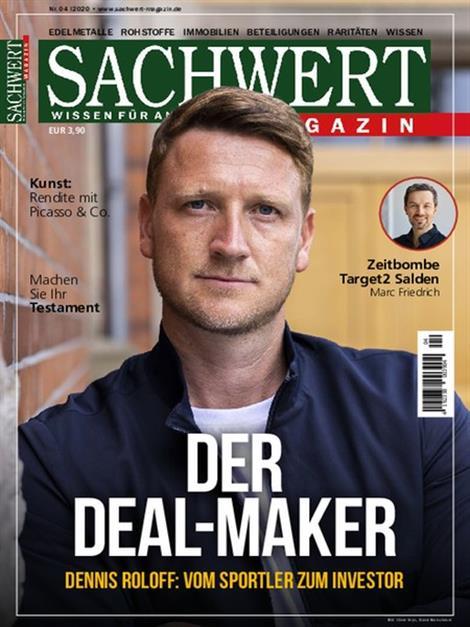 Das aktuelle Cover des Sachwert Magazin – Wissen für Anleger