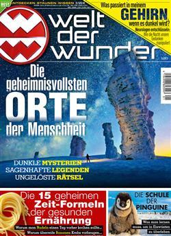 Welt Der Wunder Zeitschrift