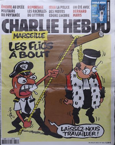 Charlie Hebdo Frankreich Abo
