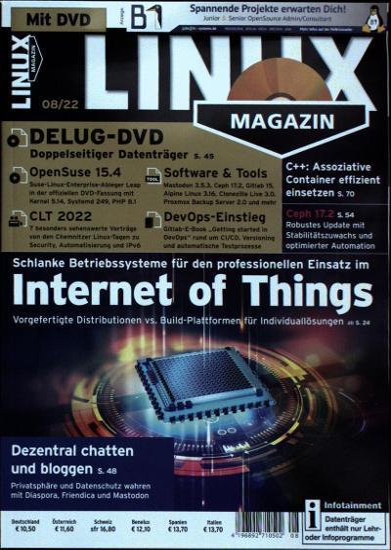 Linux Magazin DVD Abo
