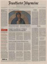FAZ Frankfurter Allgemeine Cover