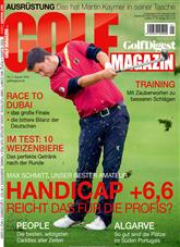 Golf Magazin Cover