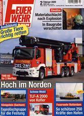 Feuerwehr Magazin Cover