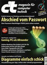 ct Magazin Cover
