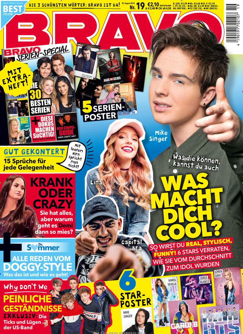 BRAVO Cover