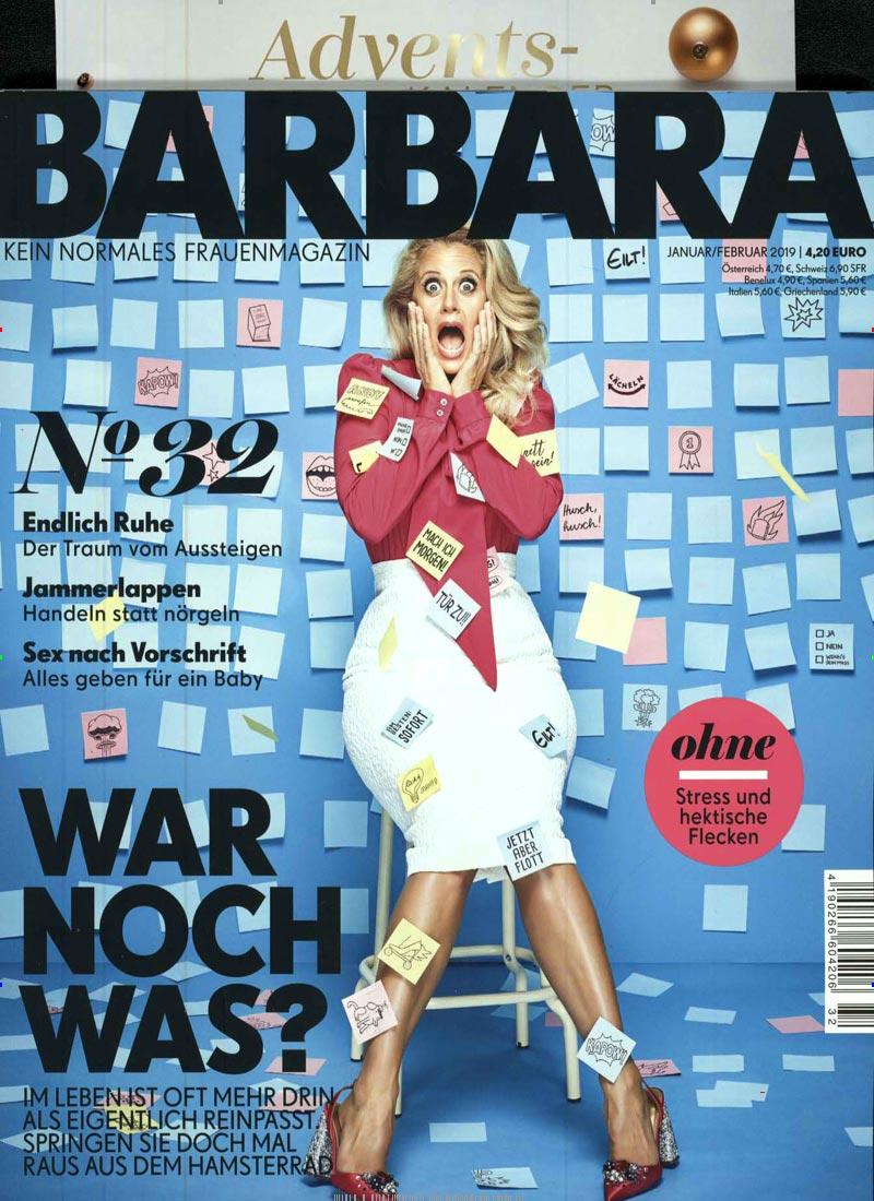 Cover des Frauenmagazins BARBARA