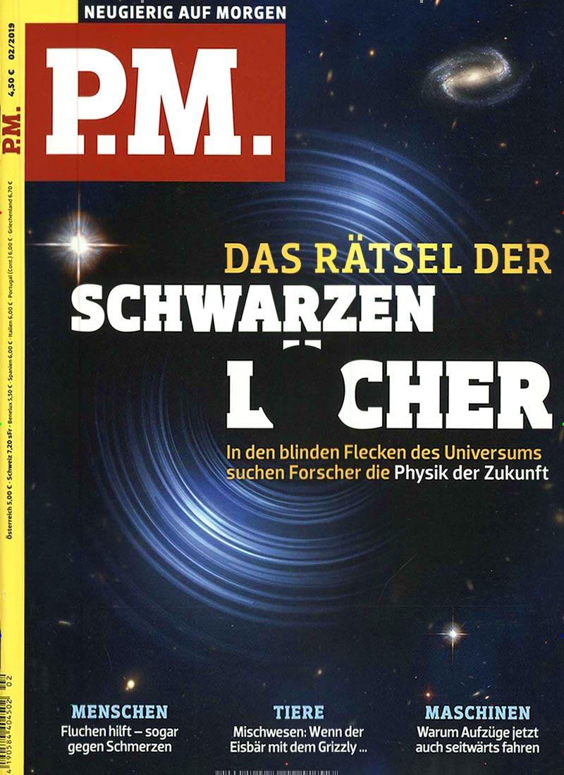 Cover des P.M. Magazins