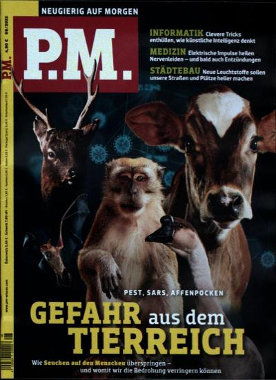 Cover des P.M. Magazins