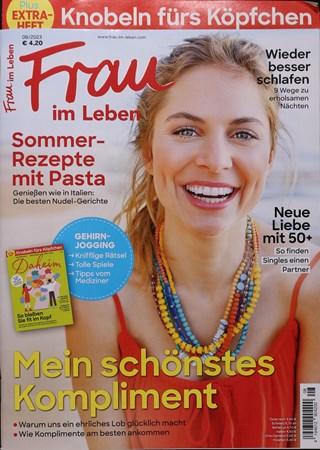 Cover der Zeitschrift Frau im Leben