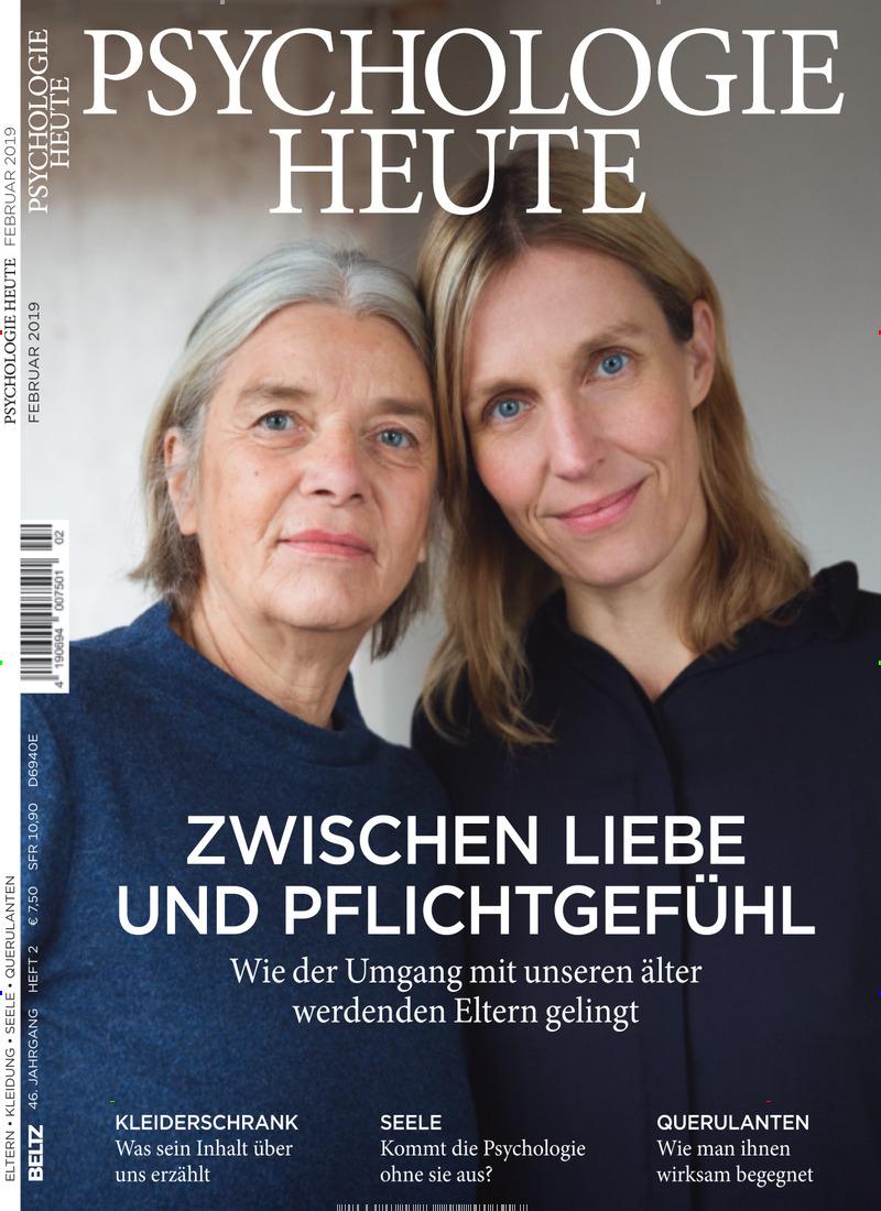 Cover der Zeitschrift Psychologie Heute