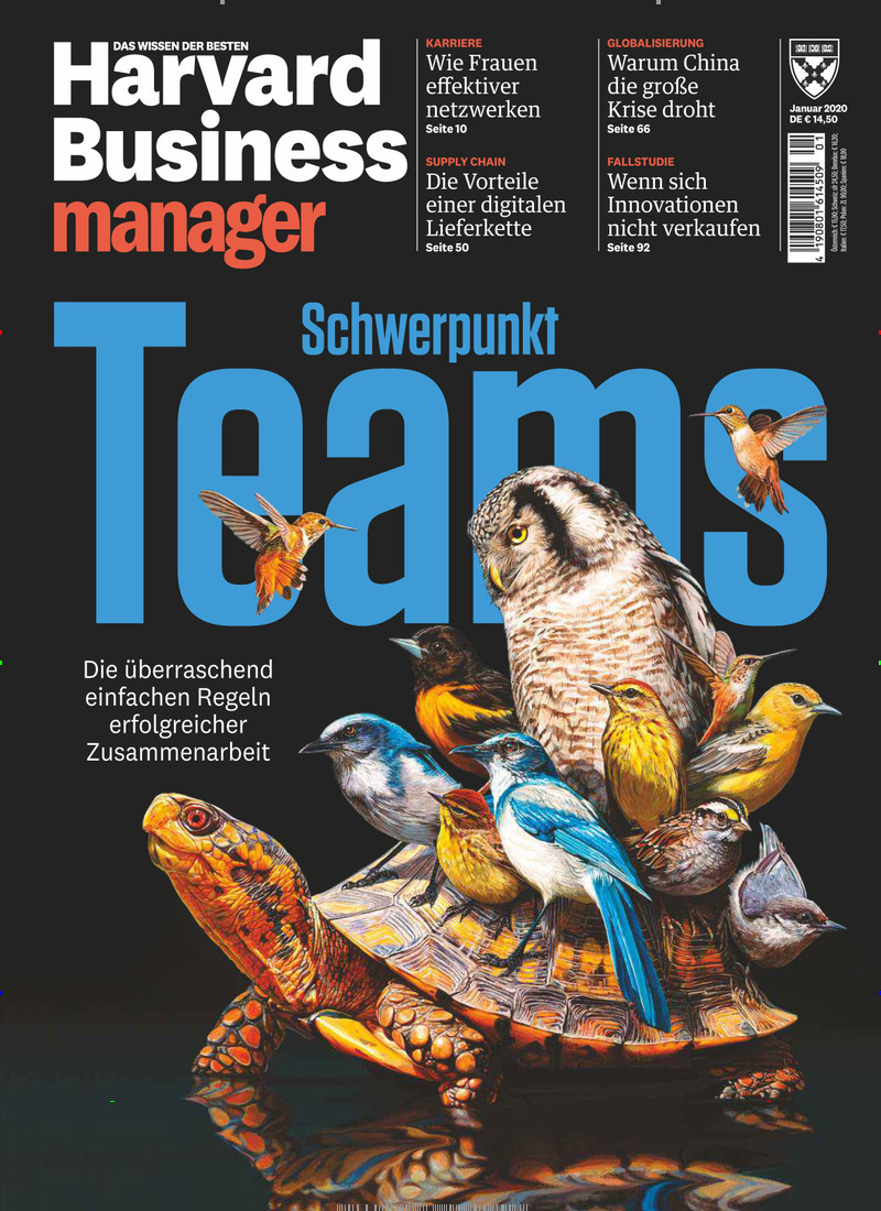 Cover Harvard Business manager Magazin