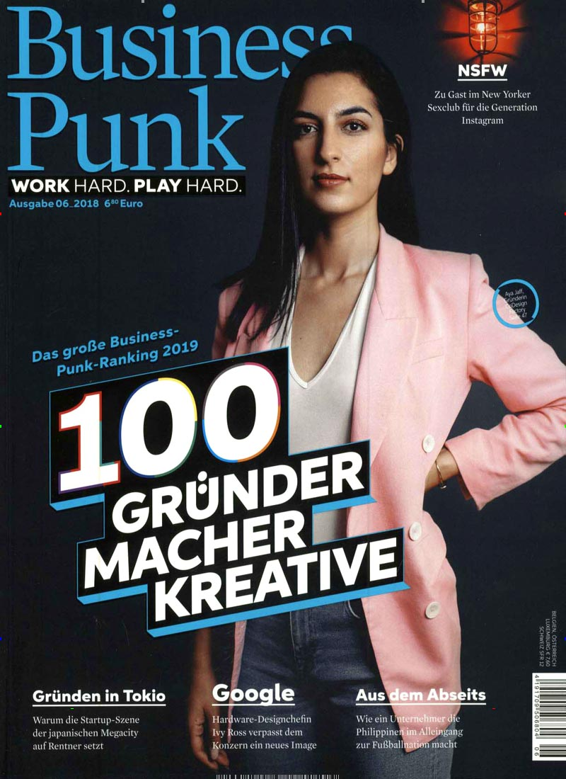 Cover der Business Punk