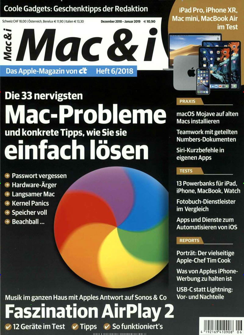 Cover des Magazins Mac & i