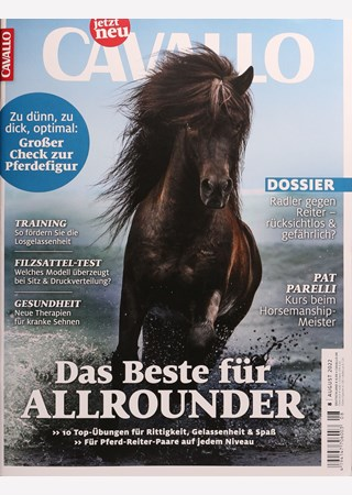 Cover des Magazins Cavallo