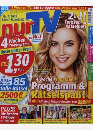 Das Cover der Nur TV