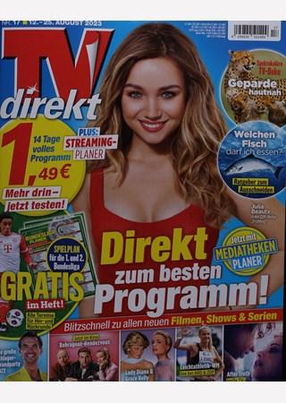 Das Cover des Magazins TV Direkt