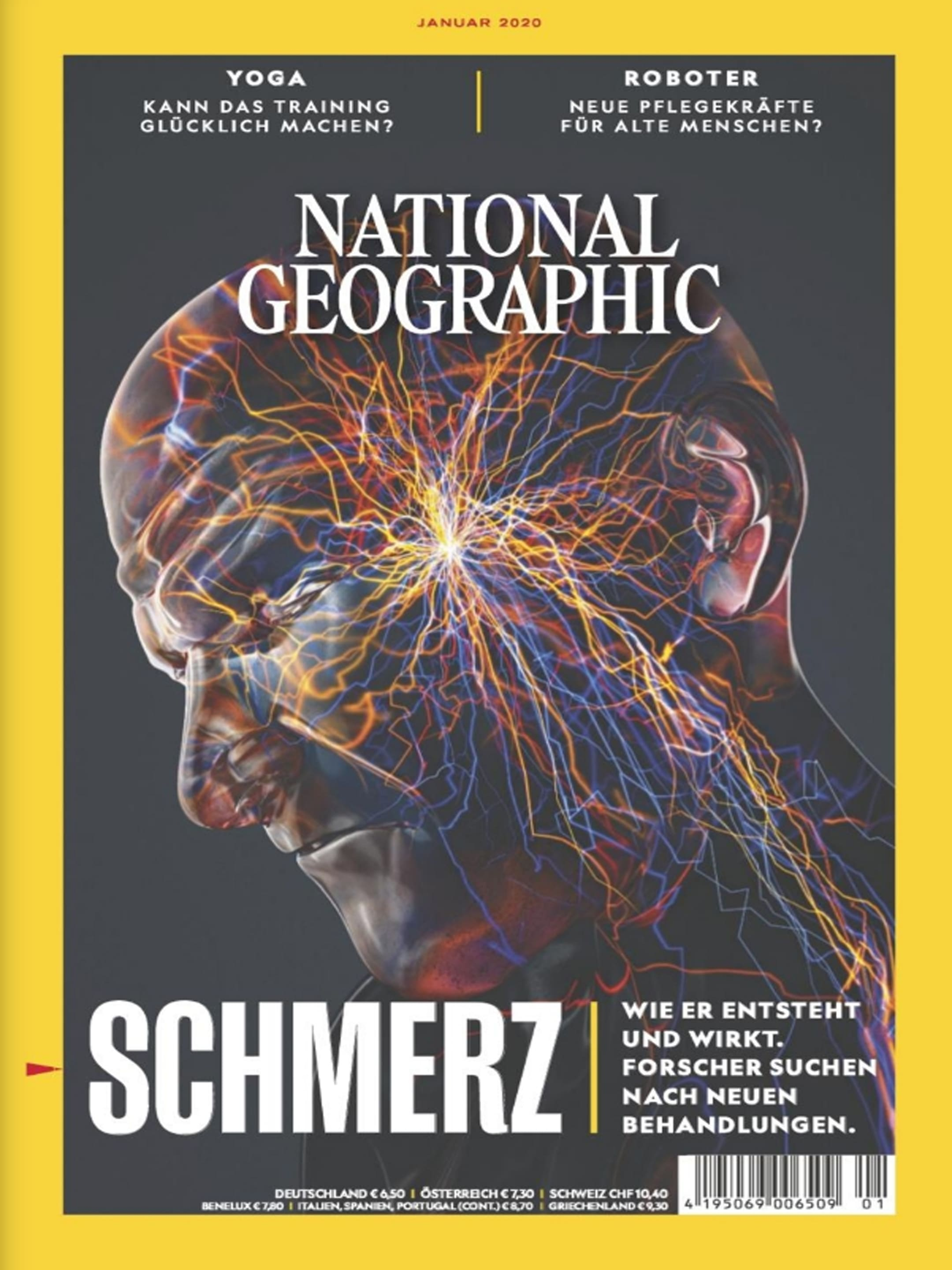 Cover des Magazins National Geographic