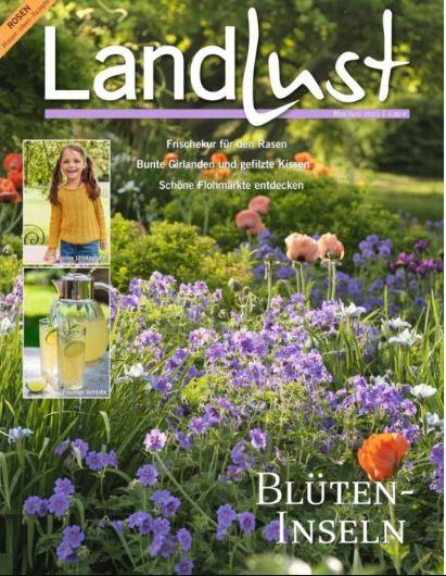Das Cover der Zeitschrift Landlust