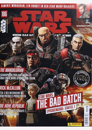 Cover der Magazins Star Wars: Das offizielle Magazin