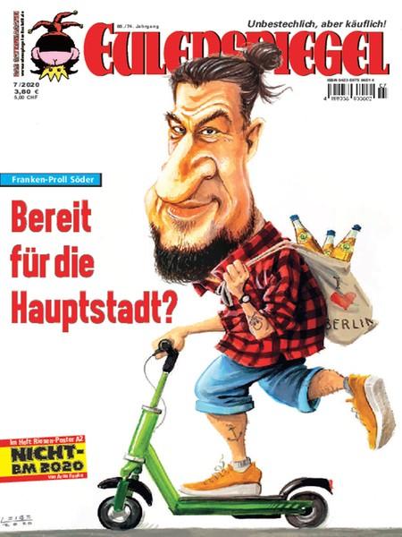 Cover des Eulenspiegel