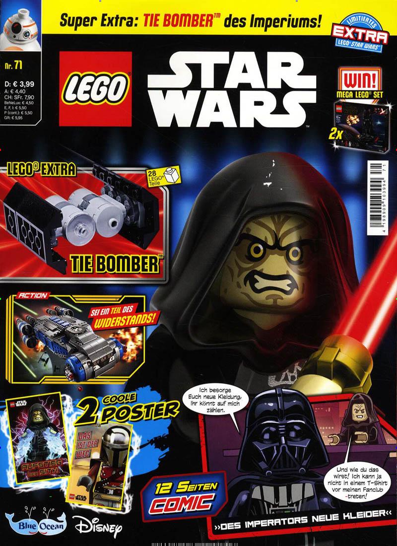 Das aktuelle Cover des Lego Star Wars Magazins.